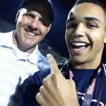 Chillin with Coach Walker after the Allen win #txhsfb @dctf #RFTB http://t.co/S0MmdNT94y