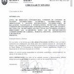RT @UNAH_Oficial: Circular sobre labores de fumigación para el día de mañana en CU Tegucigalpa. http://t.co/zxL75Nuc6L