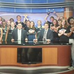 Great show with Academic Magnet Dirty Birds Band and Cheerleaders on @ABCNews4 tonight! http://t.co/h7qCa2Wz5p