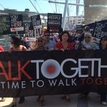 Great turnout and amazing Brisbane day to #walktogether #auspol http://t.co/779y6IstlC