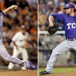 RT @MLBPipeline: Finnegan now: Oct. 24, 2014 - @Royals, #WorldSeries Finnegan then: Jun 17, 2014 - @TCU_Baseball, @NCAACWS @bfinny29 http://t.co/awk4OSJd9Y