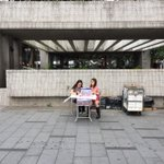 RT @antd: Another incredibly popular anti occupy petition station. Double staffing to cope with the crowds #OccupyHK http://t.co/zWDATCwFI0