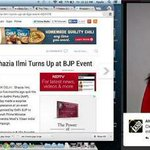 Ex #AAP leader Shazia Ilmi after becoming BJP event, soon going to become BJP agent...A Blott on the name of Mankind http://t.co/rjsXDKKqkq