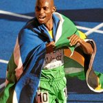 Mbulaeni Bullet Mbuli Mulaudzi celebrating after winning a silver medal at the 2004 Athens Olympics 800m. RIP http://t.co/OUXruwwbgN