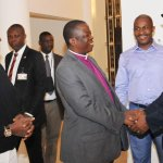"""Primate Okoh, Gov Suswam & ESNCPC Opara welcoming President Jonathan to Jerusalem for 2014 Pilgrimage, Sat. http://t.co/x0a9tUmkxE"""""""