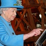 Queen Elizabeth II has posted her first ever tweet, complete with a hashtag and sign-off. http://t.co/WtlZIymOAz http://t.co/djsQYLdJQk
