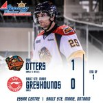 #Otters come out to a fast start by having Nick Betz put the puck in the back of the net for his 5th of the season! http://t.co/H7WEKtxpAo