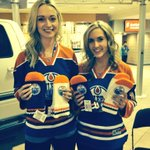 RT @JenScrivs: Come find @LaurenRodych and me near the Ford truck to get your @EdmontonOilers mittens! #HockeyFightsCancer http://t.co/UTxGtRKj0X
