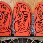 Got the @thecrawclaw ready to go! #YesYesYes! #GoGiants! #OrangeOctober #OrangeOctober http://t.co/AHsdauC9cq