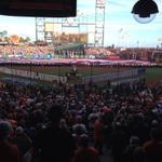 RT @Royals: National Anthem before #WorldSeriesGame3 #Royals http://t.co/Bkeh2af717