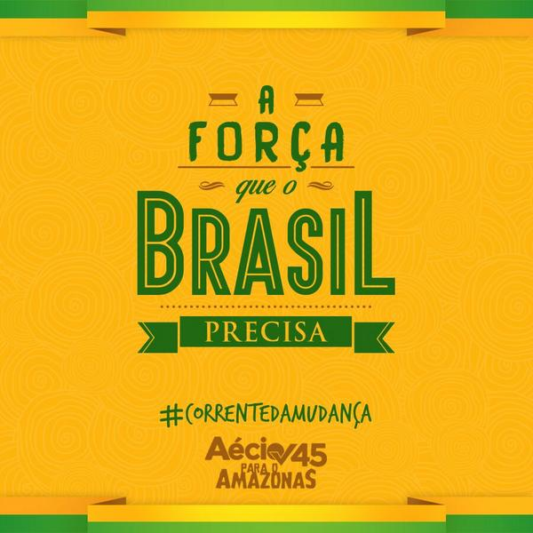 #45neles #correntedamudanca #MudaBrasil http://t.co/ewKXCQmsTe