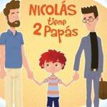 """RT @bbcmundo: """"Nicolás tiene dos papás"""": el libro para niños preescolares que causa revuelo en Chile http://t.co/2uCyrrZjAf http://t.co/KVmpLGHWn3"""