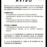 RT @CAMPCHEPROGRESA: @FinanzasCAMP #INFORMA #ATENCION #CAMPECHE Este #FinDeSemana... @TirsoAgustin http://t.co/I8Tz05APrq