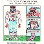 Tennessee plans on wearing alternate uniforms tomorrow vs. #Bama. #BAMAvsTENN #TennesseeHateWeek http://t.co/XgLBCa6549