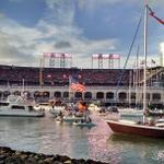 RT @JohnSasaki1: Best place in the world for baseball. #Giants2Win #GoGiants http://t.co/kFjbVlgQAL