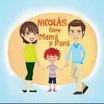 """Pueden calificarme como """"retrógrado"""", pero prefiero que Nicolás tenga una mamá y un papá... #NicolásNoTieneDosPapás http://t.co/oMEKOyW8Uh"""
