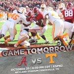 RT @AlabamaFTBL: Less than 24 hours away from #BAMAvsTENN! #RollTide http://t.co/CChRYsNECy