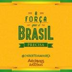 RT @Arturvneto: Corrente da Mudança por um Brasil melhor: poste agora esta foto e texto e #45neles. #correntedamudanca #MudaBrasil http://t.co/DbXoyxd64F