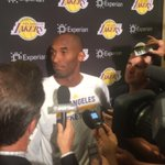 """Kobe on Nash: """"He dealt with it his whole career. It just caught up to him."""" http://t.co/Vk7nzF5cC9"""