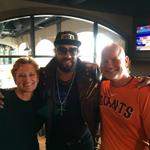 RT @SFGiantsFans: Incognito RT @nancybroden: Andres the Giant in the house! #SFGiants #OctoberTogether http://t.co/0dAnHHxuWf