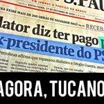 """RT @jandira_feghali: Aécio, quer mesmo entrar no debate da corrupção? Tucanos são """"rabo preso"""" há 20 anos. #SomosTodosDilma http://t.co/uOKEdxXRil"""
