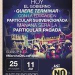 RT @felipekast: Mañana nos vemos a las 11 en plaza italia. Tod@s invitad@s a marchar x una reforma educacional de calidad (RT) http://t.co/cHXujSPm3z