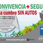 A la cumbre del Parque Metropolitano sin auto @parquemet, ciclista y peatones http://t.co/hKrSHjnESp