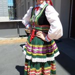 Love the Polish Fest director in her Polish dancing costume. #lookingfab #wellington #polishfestival http://t.co/yrkG0cQlnE