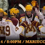 .@GopherHockey is underway for the 2014-15 season home opener! http://t.co/9Y0Bm2Q4P1