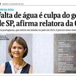 RT @fernandocabral: Falta de água em #SP | A Onu não concorda com você Aécio. #DebateDaGlobo #DebateNaGlobo http://t.co/9qcaQi40Fr