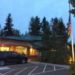 Flags at half-staff at Marysville Fire Station 62. Station is just down the street from Marysville Pilchuck High. http://t.co/FpglaTI571