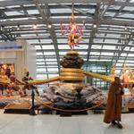RT @arundharhoney: The classic Samudra Manthan Statue at Suvarnabhumi Inational Airport,Bangkok. @Swamy39 @jagdishshetty @rameshnswamy http://t.co/k7NlVyzSje