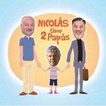 """""""Nicolás..tiene 2 Papás"""" El ingenio chileno no tiene límites???? http://t.co/2d4G7LD4nj"""