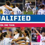 RT @ussoccer_wnt: Thats it! With a 3-0 win against Mexico, the #USWNT are headed to the @FIFAWWC in 2015! Canada here we come! http://t.co/7vZNOTFkcr
