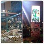 Militantes atacam prédio da Editora Abril (revista Veja), em São Paulo http://t.co/Yr0JD5mH4m