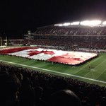 Thank you to the @ticats for the flag. Tonight would not have been possible without your help. http://t.co/cGmThBRWXH