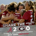.@AlabamaSoccer tops Georgia in the final reg. season home match, 2-0! Share the W! #RollTide http://t.co/bilhpWCJL2