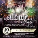 Octubre se termina con la mejor fiesta de disfraces de la ciudad! Te esperamos este 31/10 en #SonestaGye!!! http://t.co/M77j4k8OdK