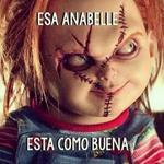 —Oye Chucky, ¿Qué opinas de Annabelle? — http://t.co/YlwmAWg9J9