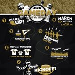 Before you turn in for the night, heres your #UCFHC GAMEDAY timeline! See you in the mornin! #ChargeOn http://t.co/tB5ZtWOajj