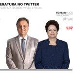 RT @g1: Veja como foi a temperatura do debate Aécio x Dilma no Twitter: http://t.co/RKylcEbtjg #DebateNaGlobo #G1 http://t.co/K93xjBgVhA