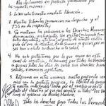 Leopoldo López difunde carta manuscrita y se declara en protesta permanente http://t.co/ZwaNz3k3qq http://t.co/6LdBFAQw9b