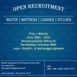 @infomalang Open Recruitmen karyawan cafe di daerah sigura - gura. Info : 085250747711 #LowkerMLG http://t.co/9ESCN6i5yv
