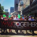 RT @senatormilne: Say it loud. Say it clear. Refugees are welcome here! With @SenatorSurfer #walktogether http://t.co/P9qy3spMdK