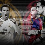 La mejor delantero vs La mejor defensiva. ¡¡SE VIENE EL CLÁSICO!! RT. #HalaMadrid FAV. #PutaBarca http://t.co/ZsqrWs4sOb