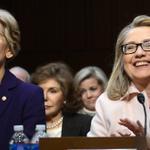 Hillary Clinton: I love … Elizabeth http://t.co/rZWRCh3rEY | Getty http://t.co/tyA5aQ2pOf