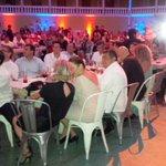 El Gob. @ferortegab y su Esposa Sra Adriana Hdz en los Premios #GourmerAwards en #Campeche @CAMPCHEPROGRESA http://t.co/BJgv5p8VQ4