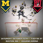 RT @umichhockey: See you in Boston... #GoBlue http://t.co/yNlI6FsulC