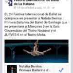 Representando a Chile y @TeatroMunicipal y @BalletdSantiago #ballet #dancers #chile http://t.co/wL3BHjjS17