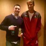 RT @ClayTravisBGID: Lane Kiffin making friends tonight in Knoxville. RT @johnson_richie: some things never get old http://t.co/WLWn6CxoLP